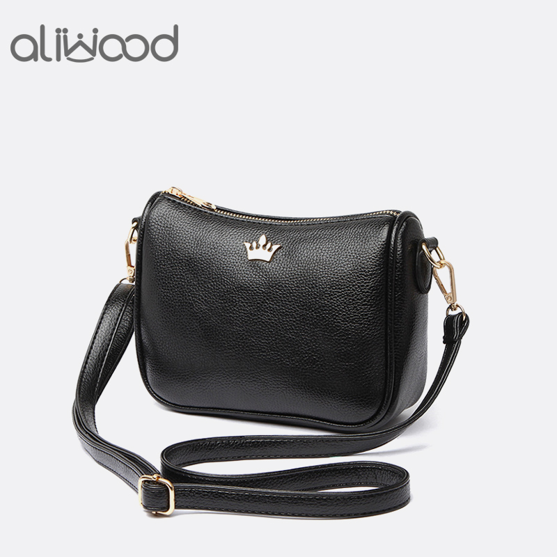 Aliwood Brand Shoulder Bag Crown