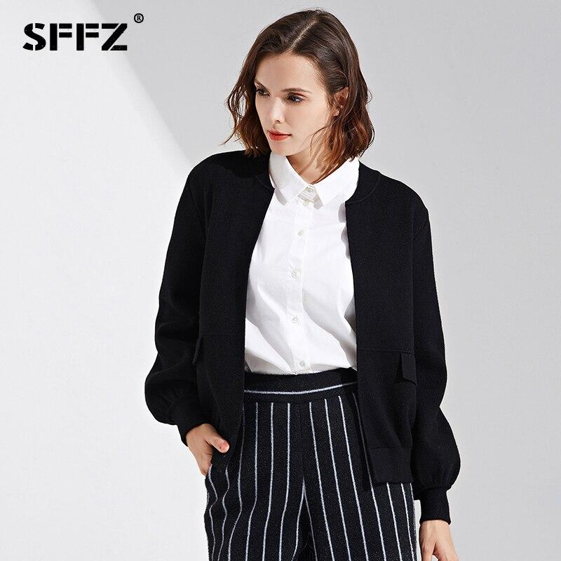 Ouvrir Black Tricoté Femmes Mode Cardigans red Chandail 17133 Solide Automne Sffz Point Casual Vêtements Pour grey pink 2018 Couleur Nouveau 76fgby