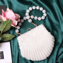Vintage Fashion Pearl Shoulder Bag Strap Shining DIY Belt for Handbag Bag Accessorie Purse Straps Pearl Strap Bag Strap for Bag(China)