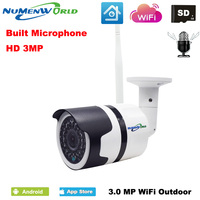 H.265 방수 IP 카메라 무선 네트워크