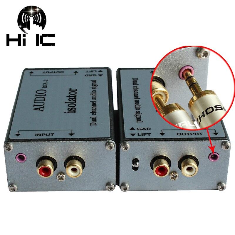 Transformateur d'isolement de Signal Audio à double canal transformateur d'isolement de filtre Audio éliminer le bruit de courant acoustique-in Amplificateur from Electronique    1