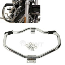 купить Chrome Black Engine Guard Highway Crash Bar For Harley Sportster 883 1200 XL XR 2004-18 по цене 8363.03 рублей