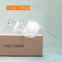 Toketorism vintage transparent womens glasses fashion spectacle frames for men 1142