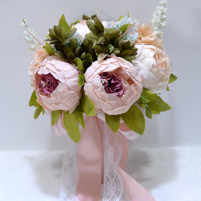 2019 Brautjungfer Bouquets Romantische Hochzeit Bouquet 10 Farben Künstliche Bouquet De Mariage Hochzeit Bouquets Für Bräute 755 Starker Widerstand Gegen Hitze Und Starkes Tragen