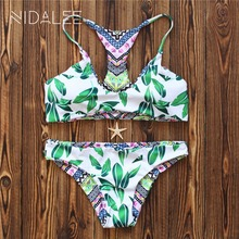 NIDALEE Sexy Micro Bikinis Women Swimsuit Swimwear maillot de bain Halter Brazilian Bikini Set Beach Bathing Suits Swim