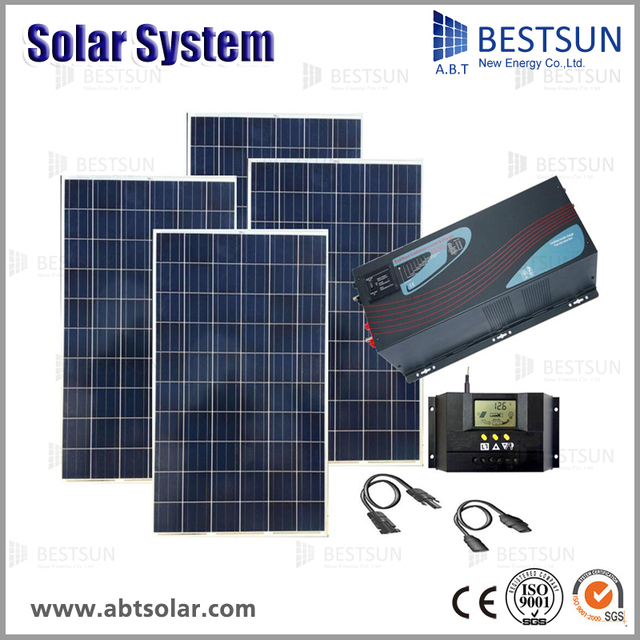 4kw 5kw 6kw portable solar power systems off grid solar panel