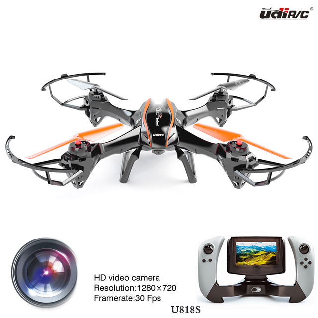 New Arrival Can Add 3D VR Glasses Large FPV 818S Drone With HD Camera Oversized Remote Control Quadcopter Real Time Helicopter