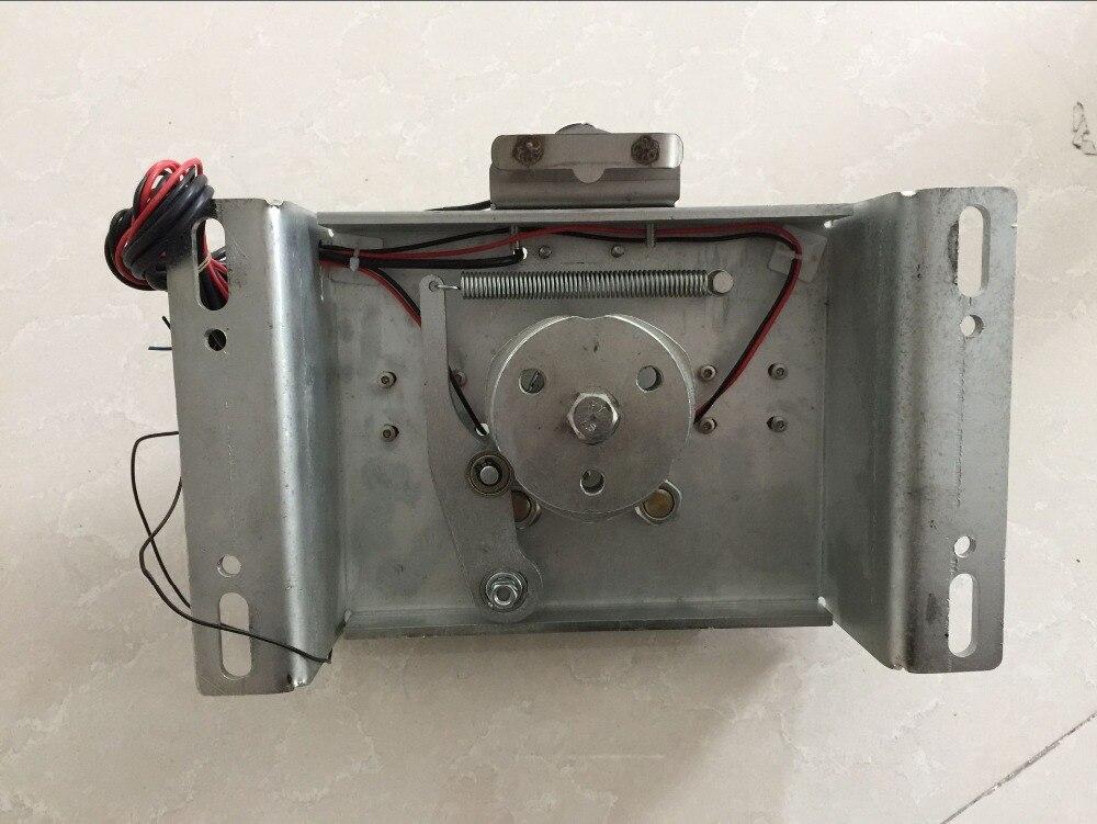 Halvautomatisk vridarmekanism med magnetventil (mekanism + - Säkerhet och skydd - Foto 2
