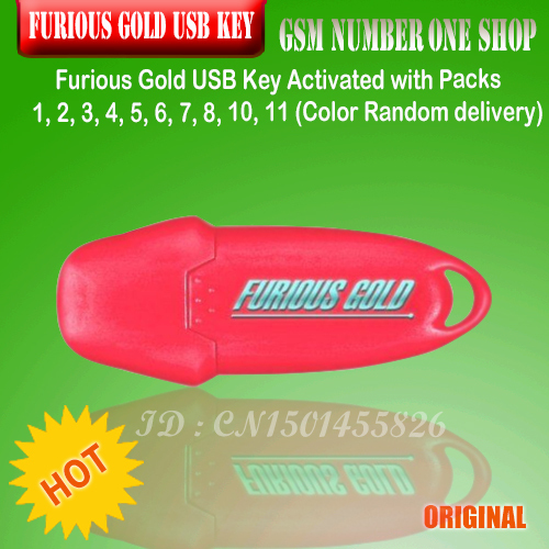 Furious Gold USB Key Activated with Packs 1, 2, 3, 4, 5, 6, 7, 8,  11 1