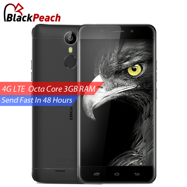 Ulefone Metal 4G Mobile Phone 5 inch HD MTK6753 Octa Core Android 6.0 3GB RAM 16GB ROM 8MP CAM Fingerprint ID Smartphone