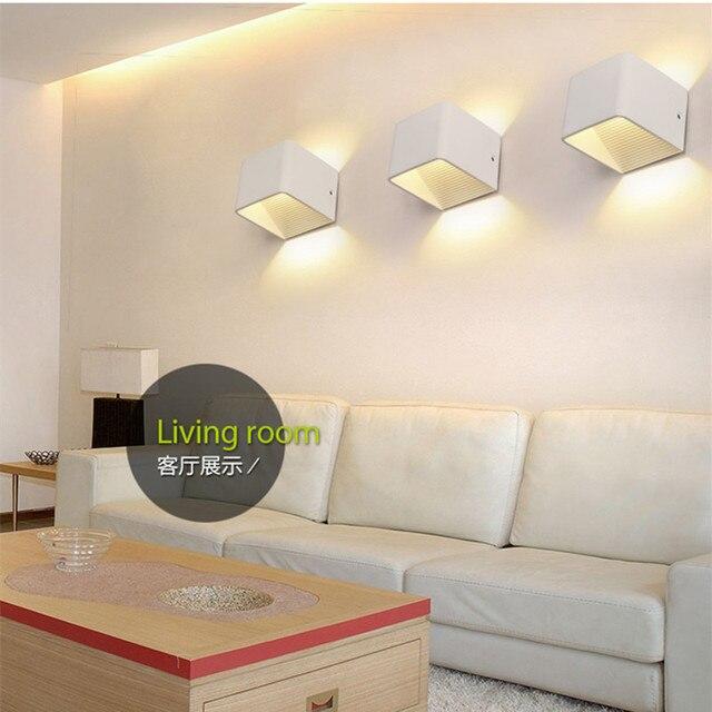 Surface Mounted LED In Alluminio da Parete Lampade da Camera Da ...