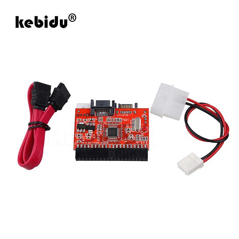 2in1 IDE to SATA SATA to IDE Adapter Converter Supports Serial ATA 100//133 New