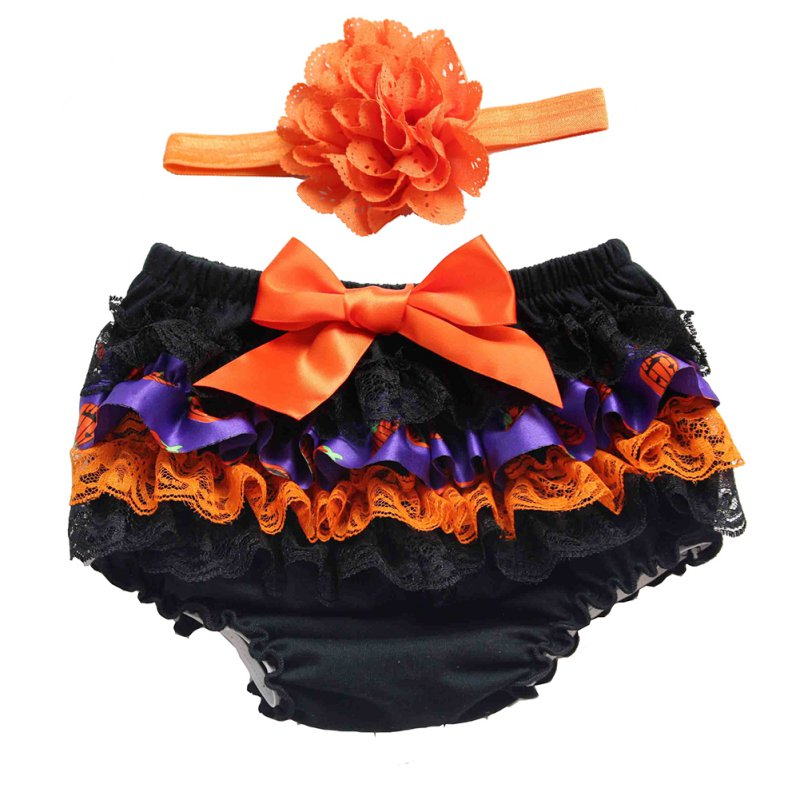Hot Sales Toddler Girls Lace Ruffle Pants Bloomers Nappy Cover Tutu Shorts Bottoms Skirts