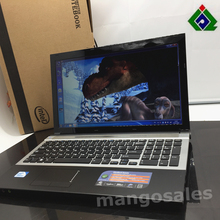 Free Shipping 15'gaming notebook computer 8GB DDR3 500GB HDD in-tel celeron J1900 2.0Ghz Quad Core WIFI webcam DVD, 8gb laptop(China)