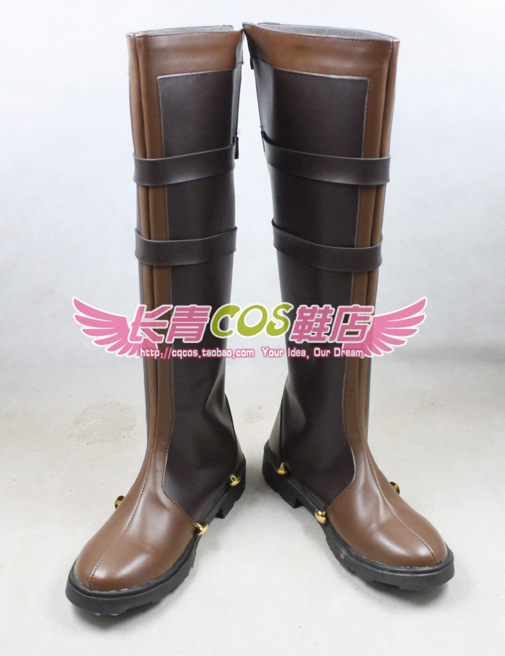 Eiyuu Densetsu Sora no Kiseki Wazy Hemisphere high boots Cosplay Boots customize any size 0694