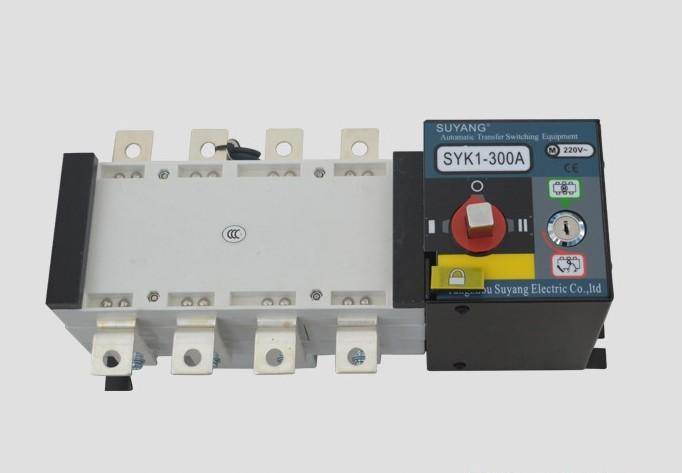 Fast Shipping SYK1 300A 4P Suyang ATS Working 440V Power 220V Dual Power Automatic Transfer Switch