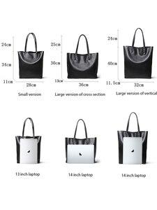 Image 3 - NMD сумки на плечо из натуральной кожи для женщин, роскошные сумки, женские сумки, дизайнерские модные мягкие сумки с большой подкладкой