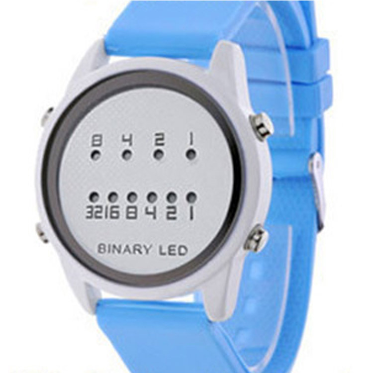 2020 Direct Selling France, Silicone Leisure Men's And Women's Watches Smart Lovers Watch Led Students Restoring Ancient Ways