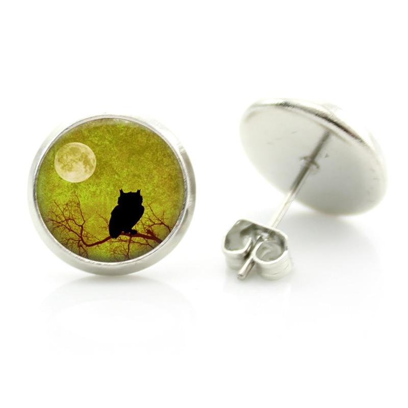 frog glass charms Vintage