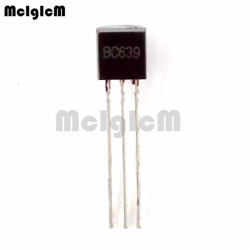 MCIGICM 5000pcs BC639 in line triode transistor TO 92 1A 80V NPN