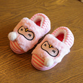 Winter Children'S Shoes Home Slipper Kids Baby Girls Indoor Shoes Slippers Cute Warm Plush Cartoon Shoes Soft Bottom Velvet Shoe