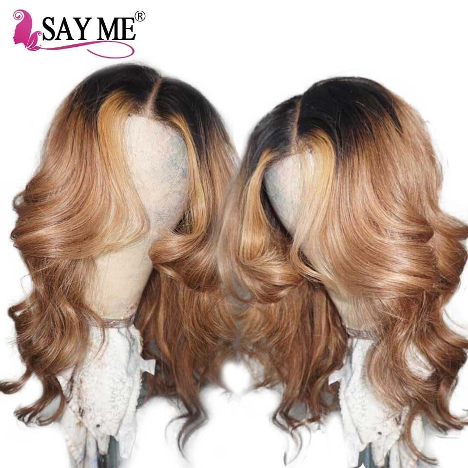 Brazilian Loose Wave Lace Front Human Hair Wigs With Baby Hair Pre Plucked Honey Blonde Remy