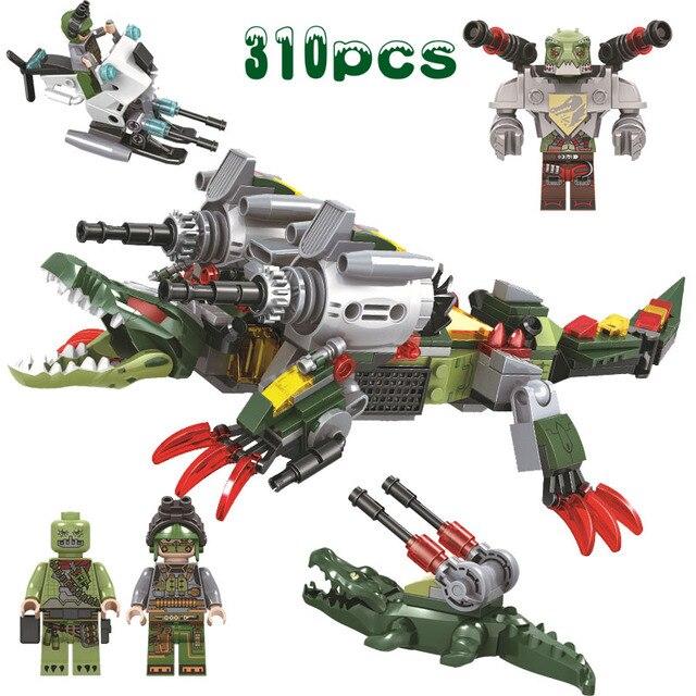 DC Marvel Super heroes série Militar Das Forças Especiais Figuras de Ação mergulho Jacaré Mech robot Brinquedos Para Presentes Dos Miúdos