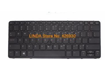 ФОТО Laptop Keyboard For HP EliteBook 725 G2 with back light and trackpoint 776452-001