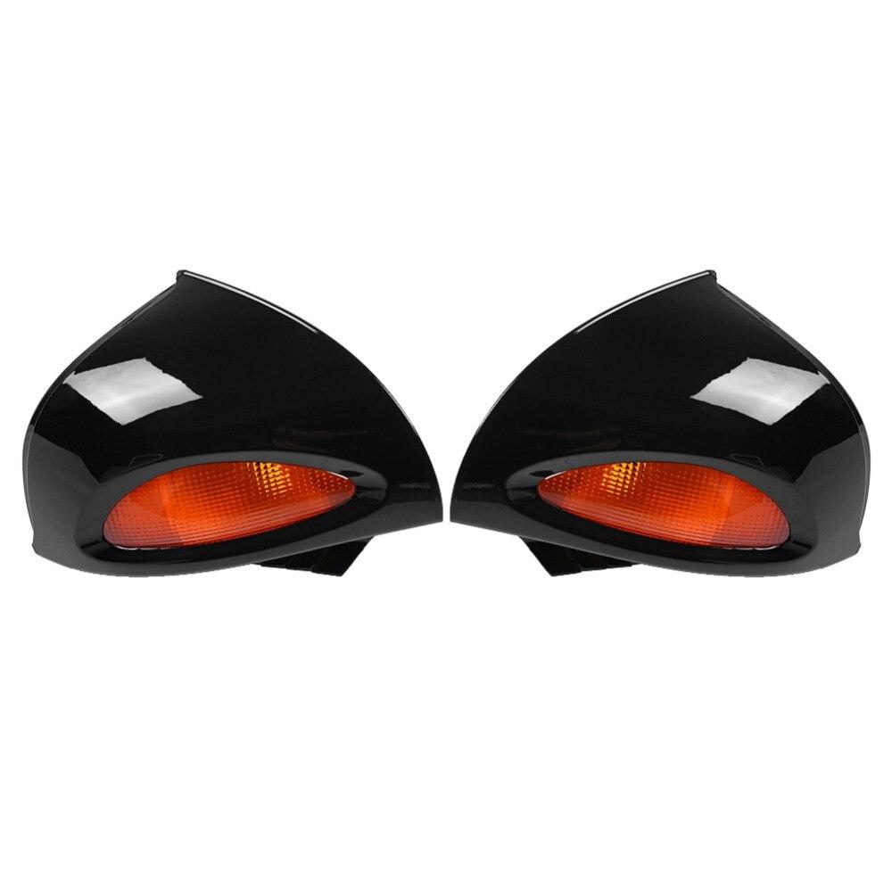 1 paire de rétroviseurs latéraux en verre avec lentille de Signal argent pour BMW R1100RT R1150RT R850RT