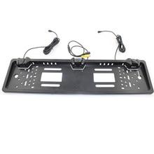 New Licence Plate Waterproof Radar Reversing Camera Monitor Parking Assistance Auto HD Reverse  #YL1