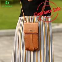 Floveme универсальная сумка чехол для Xiaomi mi6 MI5 кошелек чехол для Xiaomi Redmi 4X Note 4 4X Для женщин девчушки держатель для карт чехол