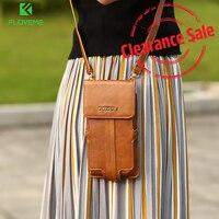 FLOVEME Universal Shoulder Bag For IPhone 7 Plus 6 6S Plus For Samsung S7 S6 Edge