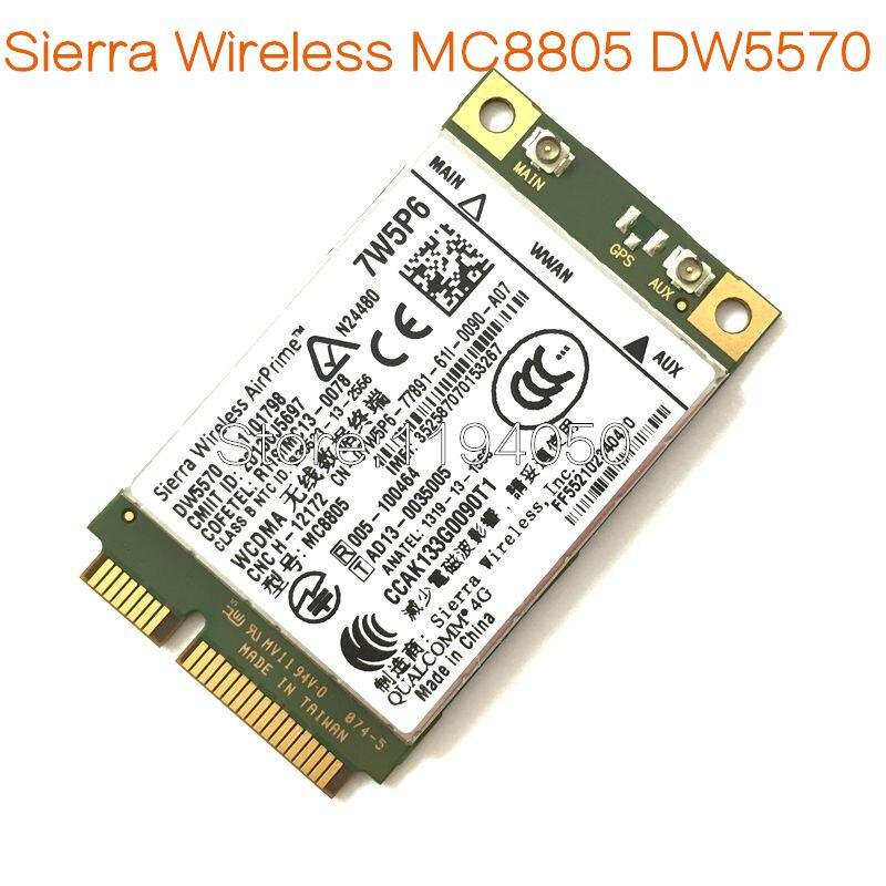 MC8805 DW5570 7w5p6 4G module 100% original apply to e5440 e6440 e6540 e7240 e7440 m4800 ...