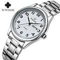 Люксовый бренд wwoor часы мужские часы с датой кварцевые дизайнерские водонепроницаемые часы деловые мужские винтажные наручные часы в стиле...