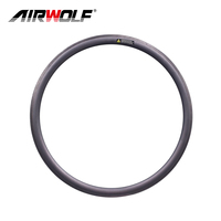 700C 38mm rim height 25mm width tubeless carbon road bike rims carbon road bicycle rims with Nanotech 04 special brake surface