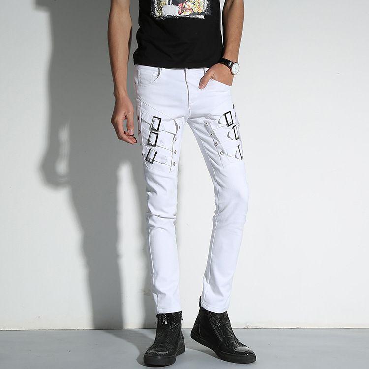2017 Mens Koreanischen Gothic Punk Kunstleder Hosen Hip Hop Patchwork Leder Hosen Harem Jogger Pantalon Homme 060103