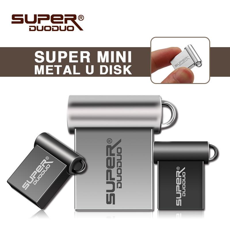 Newest super Mini metal USB flash drive 4GB 8GB 16GB micro