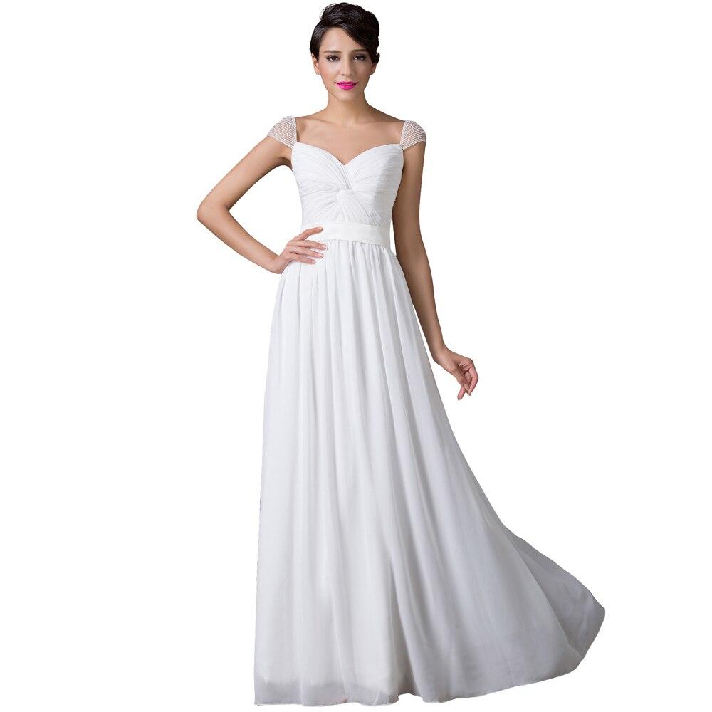 Aliexpress.com : Buy Vestidos Women Cap Sleeve Floor ...