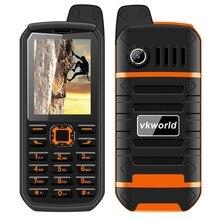Vkworld камень V3 Плюс 2.4 »4000 мАч большой Батарея мобильного телефона Водонепроницаемый пыле Dual SIM fm Радио Bluetooth Малый мобильный телефон
