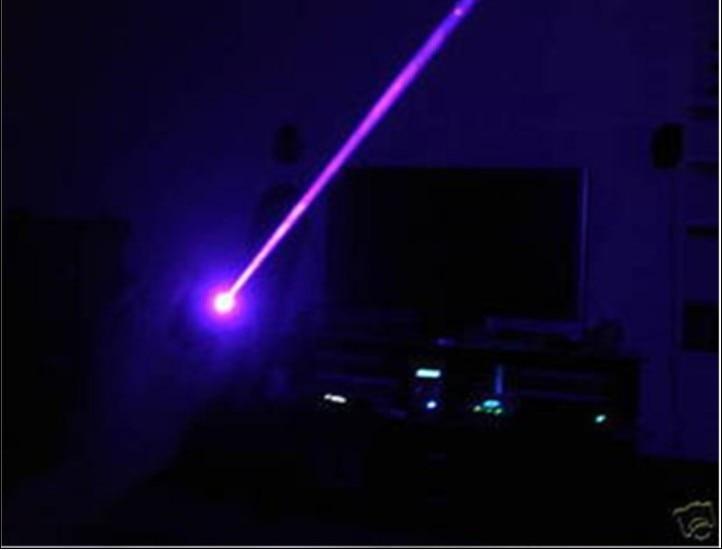 High Power Military 405nm Led Flashlight Violet Blue Laser Pointer