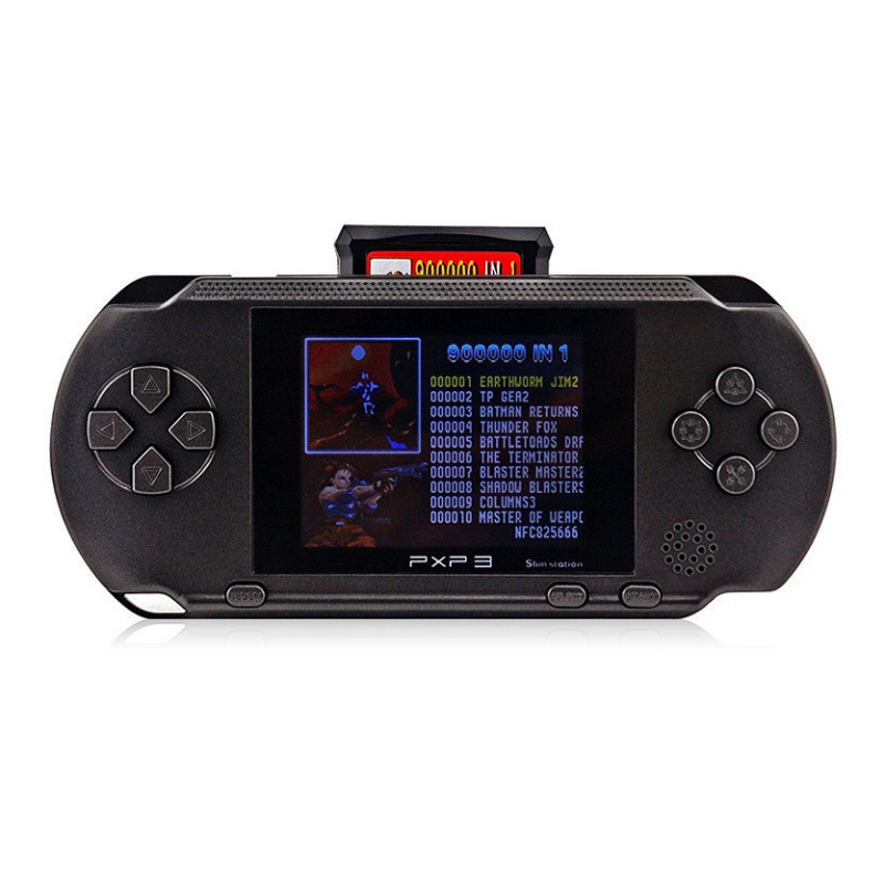 3 Inch Screen 16 Bit Games Player Handheld Game +Free Game Card Console built-in 150 Nostalgic Classic AVG/ACT/RPG Games ...