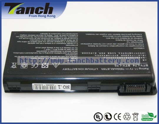 Laptop batteries for <font><b>MSI</b></font> A5000 CR700 MS-1682 957-173XXP-102 CX623 MS-1681 <font><b>GE700</b></font> MS-1736 A7005 CR630X 11.1V 9 cell image
