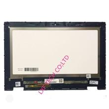"""Dla Dell Inspiron 11 3147 3148 3000 3158 LP116WH6 SPA2 z ramką 11.6 """"ekran dotykowy LCD szkło Digitizer zgromadzenie"""