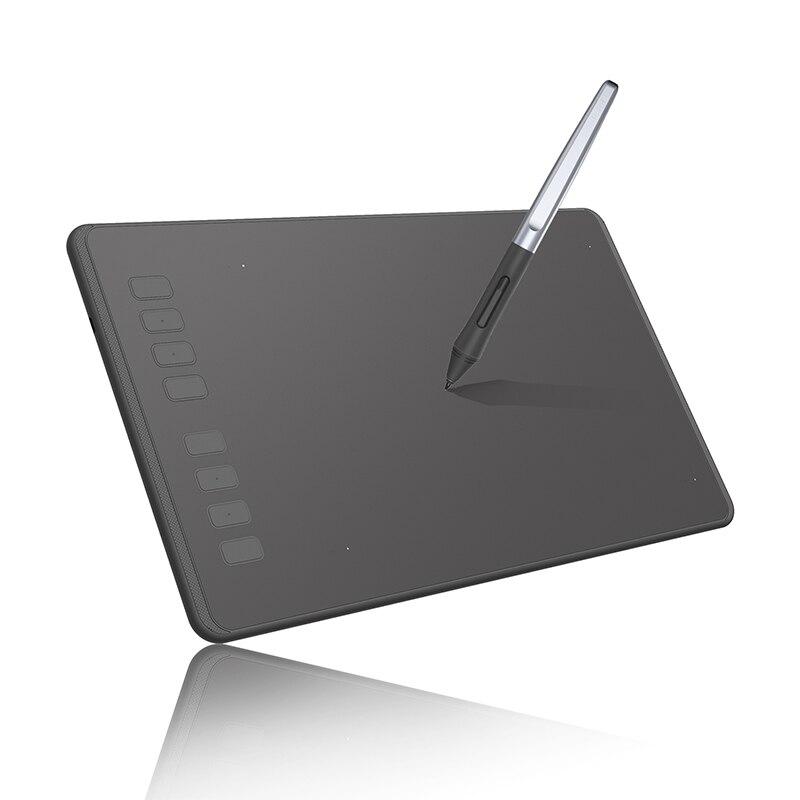 HUION H950P ультратонкие графический планшет Цифровой Планшеты Профессиональный рисунок планшет с Батарея-бесплатная Stylus