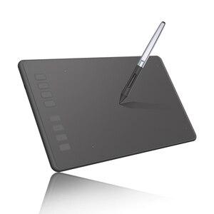 Image 1 - HUION H950P سامسونج جهاز كمبيوتر لوحي للرسومات الرقمية أقراص المهنية قلم رسم اللوحي مع القلم خالية من البطارية