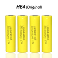 4PCS New for LG DBHE41865 2500mAh Lithium Battery 18650 3.7V power electronic  batteries 20A discharge free shopping