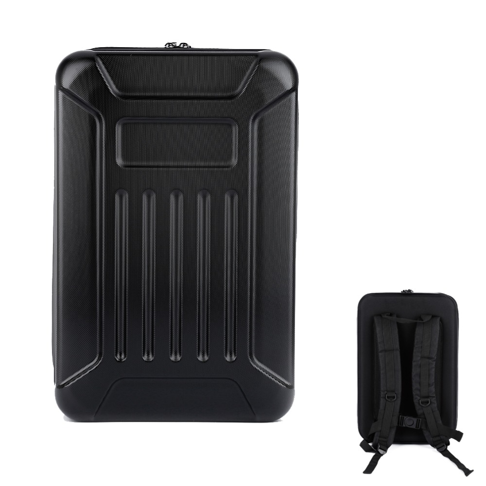 1pcs Hard Shell Backpack Case Bag Camera Bag Backpack RC Quadcopter Case Bag For Hubsan X4 H501S RC Quadcopter luxury pc hard shell backpack for dji mavic pro waterproof anti shock carry bag drone standard storage backpacks quadcopter case