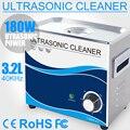 3.2L 180 watt Ultraschall Reiniger Mechanische Haushalt Ultraschall Reinigung für Schmuck Uhren Tisch Ware Stein Diamant Dental Werkzeuge