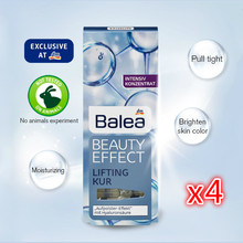 Germania Balea Acido Ialuronico siero Trattamento Anti Rughe Liquido Ascensore Booster Fiale Viso Collo Essenza Idratante 4x7*1 ml(China)