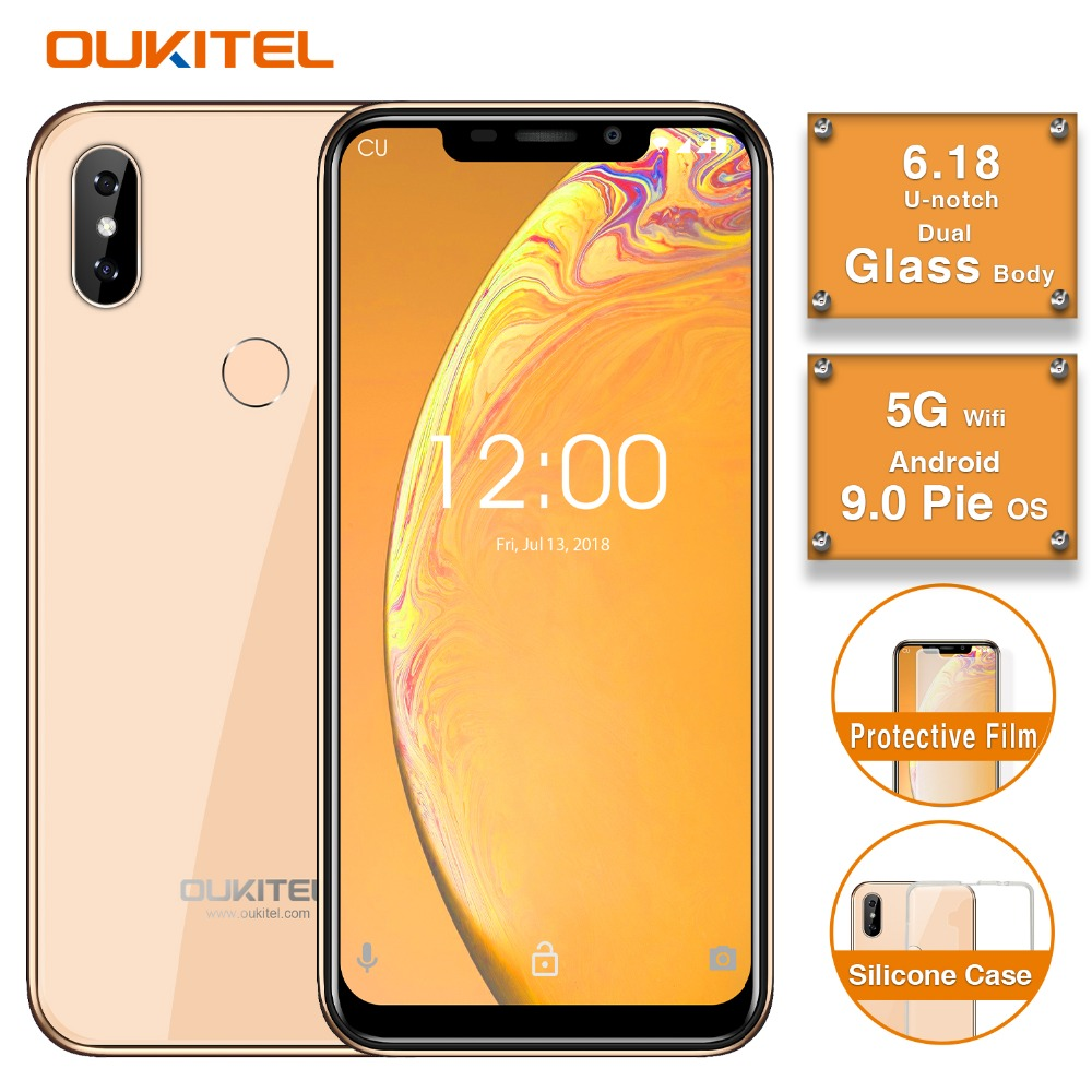 Smartphone Original OUKITEL C13 Pro 5G/2.4G WIFI 6.18